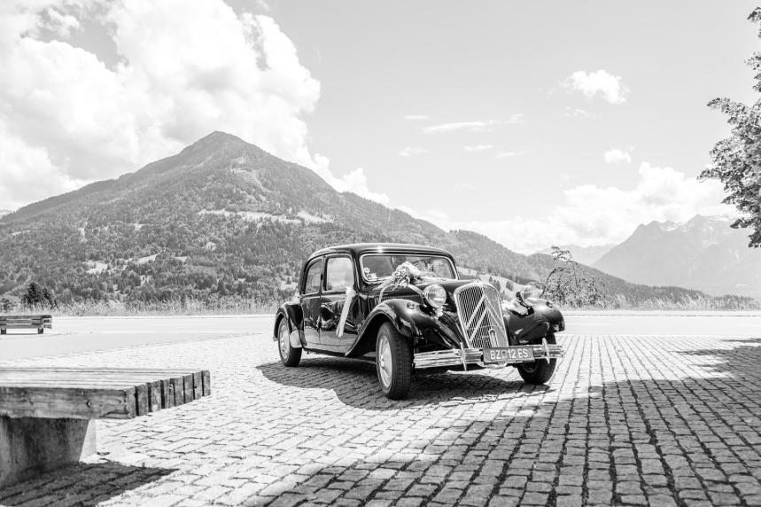 Hochzeit in den Bergen Österreichs