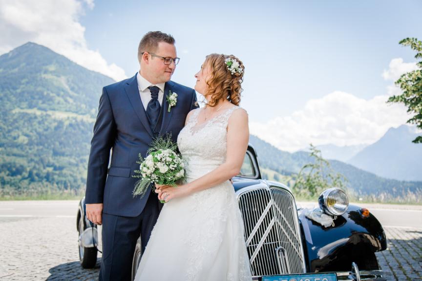 Hochzeit in Österreich Thüringerberg Bludenz
