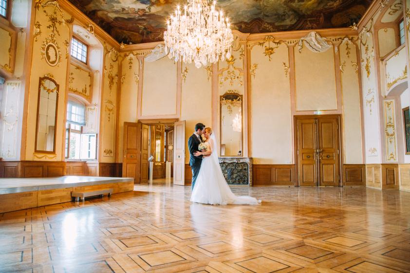 Hochzeit NeueS Schloss Meersburg Spiegelsaal